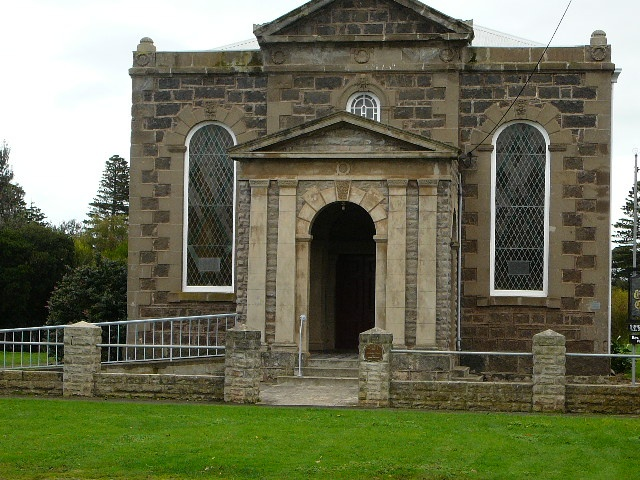 Former Wesleyan, Methodist Church; Current Uniting Church