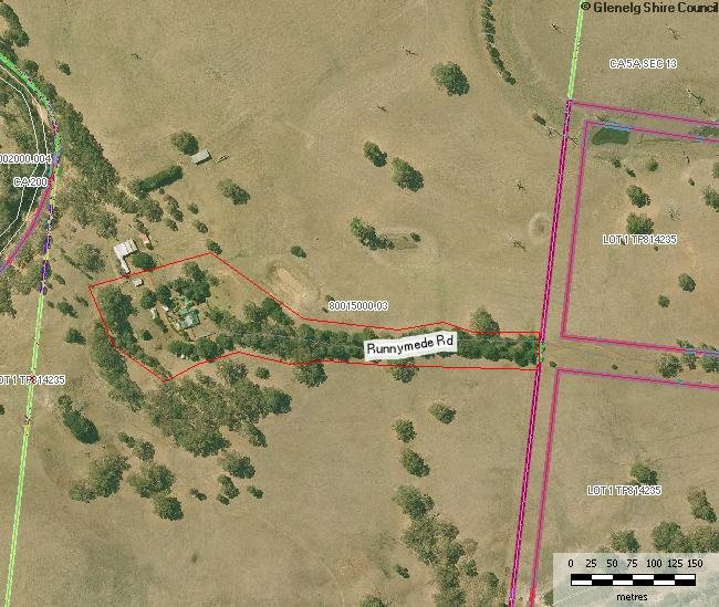 Map 1 - Extent of Registration Runnymede Homestead Complex