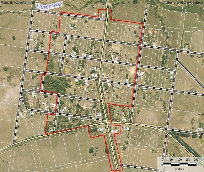 Extent of Registration (HO) Digby Village Precinct Boundary
