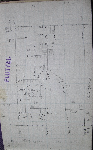 GWST Fieldbook, no. 325A, p.5, 30 August 1938.