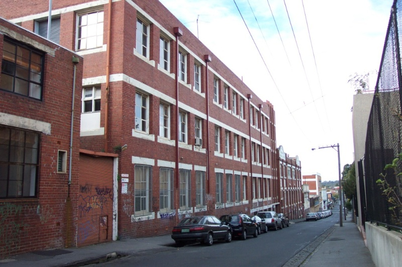 Collingwood Perry St rear 35 johnston St.JPG