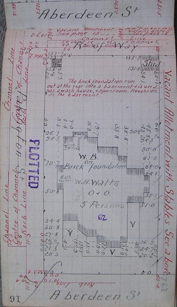 GWST Field-book, no. 123, p16, c.1913