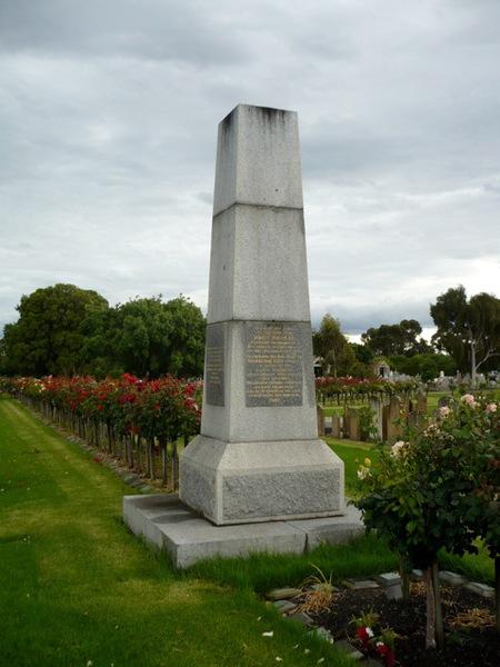 john batman memorial pioneers garden