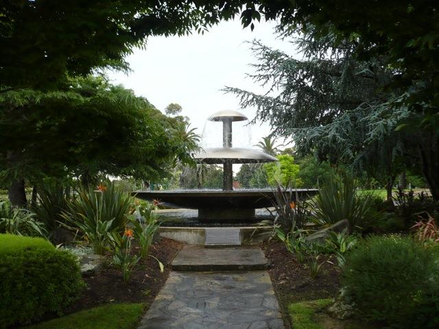 charles heath memorial fountain