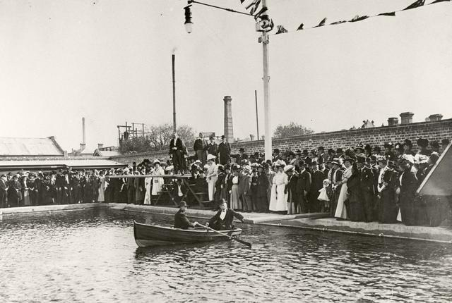 Opening of Baths 1908
