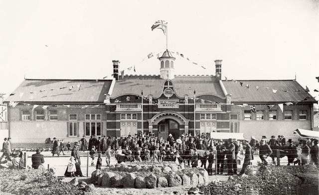Opening of Baths 21 Oct 1908