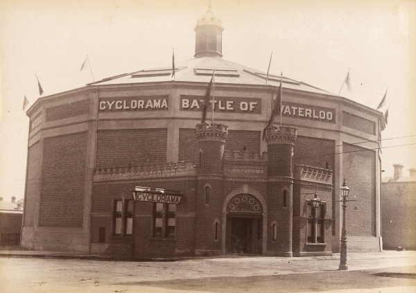 Cyclorama Building - 1889