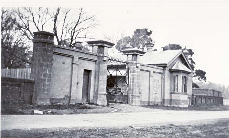 Yarra Bend Asylum - Entry Gates