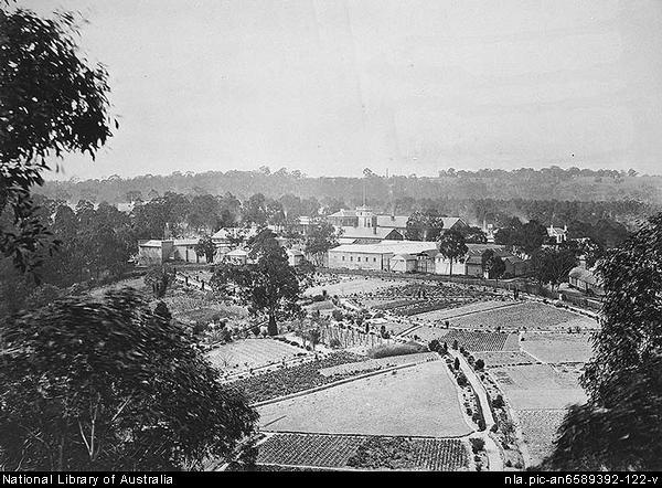 Yarra Bend Asylum - 1878