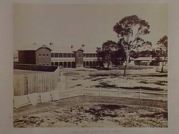 Yarra Bend Asylum - Infirmary - 1861