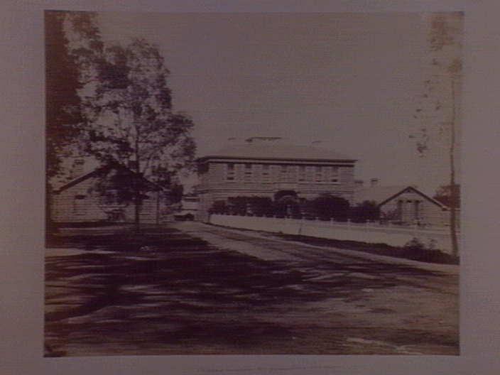 Yarra Bend Asylum - Surgeons Quarters - 1861