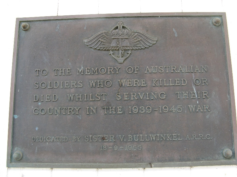 Woodhouse-Nareeb Soldiers Memorial Hall