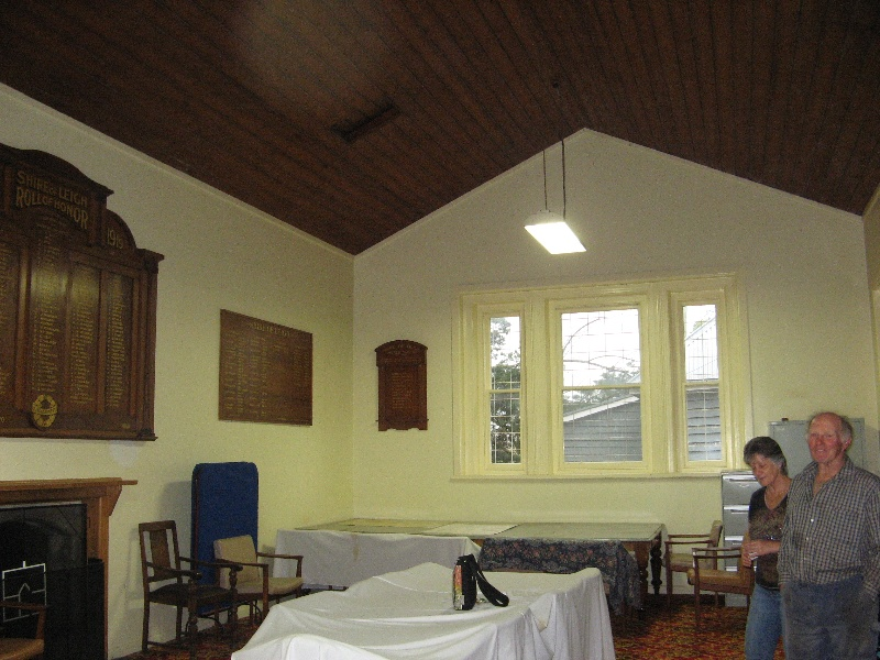 Former Leigh Shire Hall interior