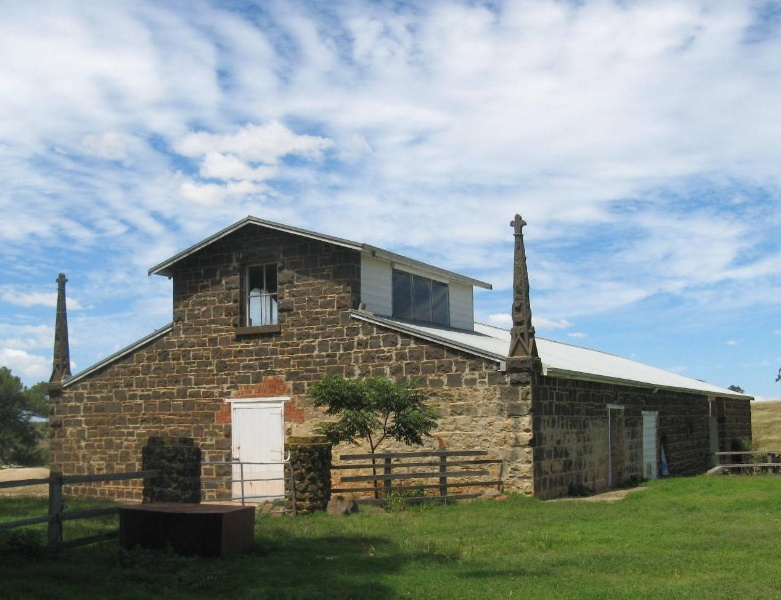 Exford Shearing Shed