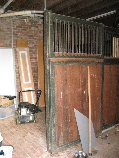 Mt Ridley stable interior