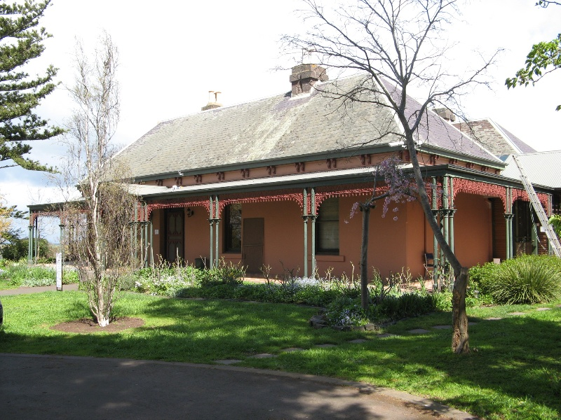 Mt Ridley homestead from north east