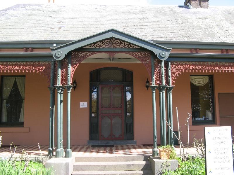 Mt Ridley homestead entrance