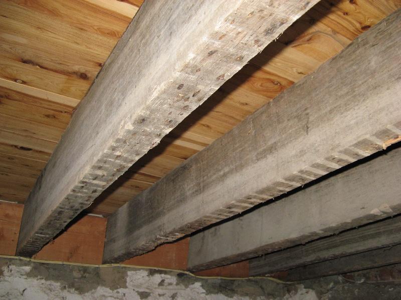 Ground floor from below