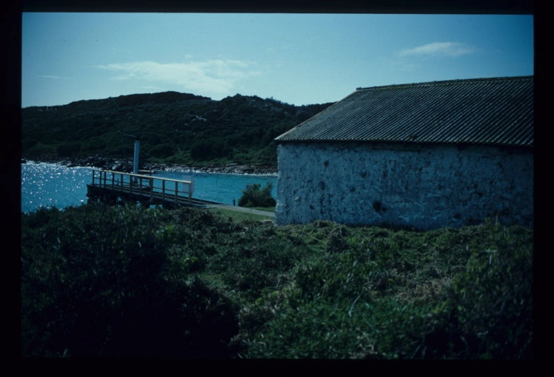 STONE HUT RUINS, GABO ISLAND