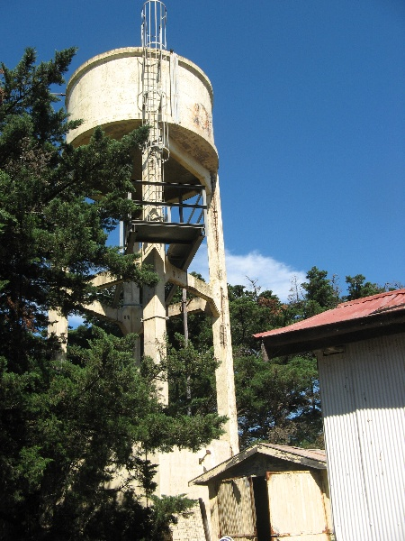 Concrete water tower