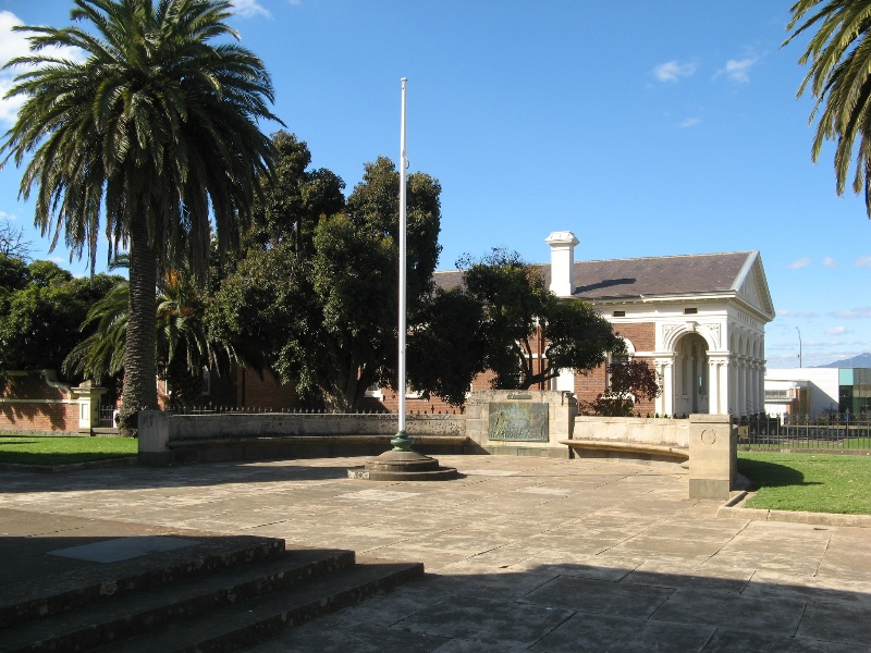 Ararat Civic Precinct Part of WWII Memorial