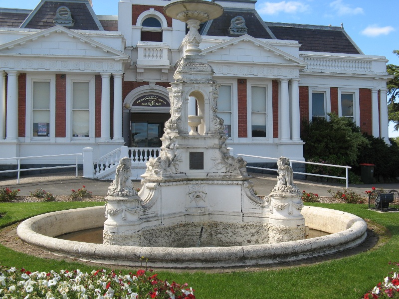 Ararat Civic Precinct Boer War Memorial Fountain