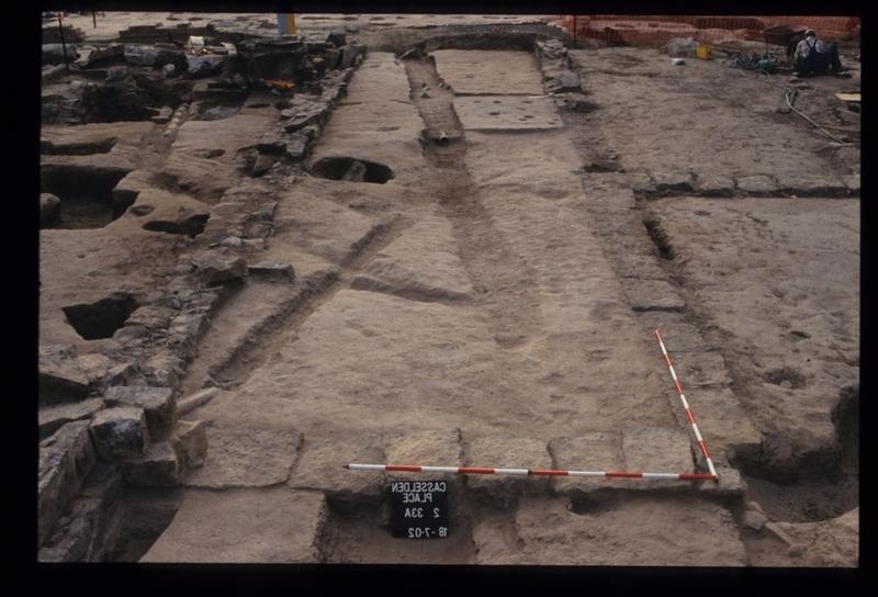 Casselden Place Excavation 2002-2003