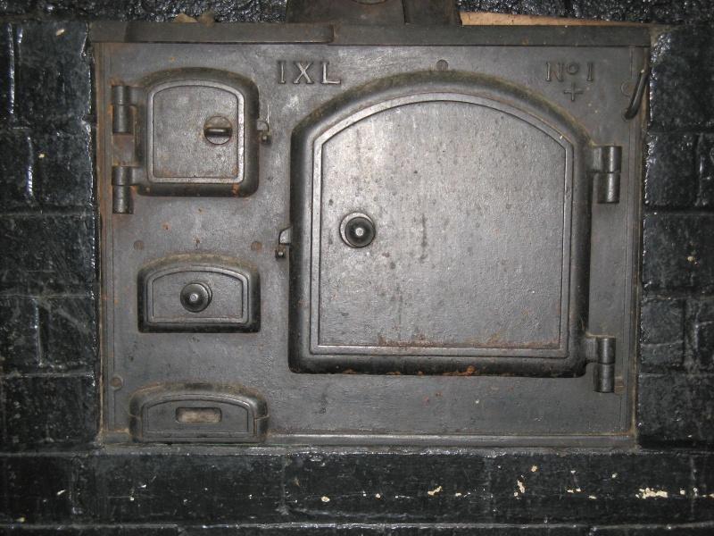 solid fuel cast iron IXL stove