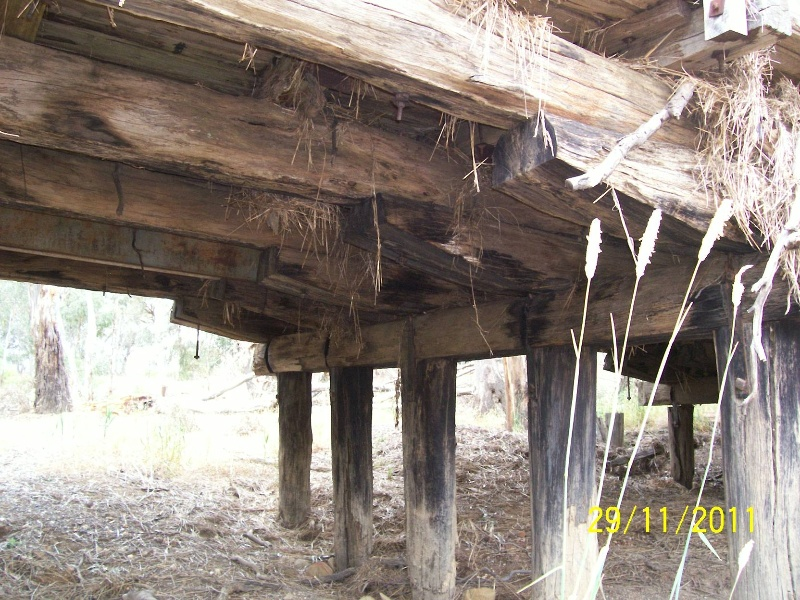 B6843 Archdale substructure