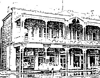 Alexandria Tea Rooms - Film 1 / Frame 20 - Ballarat Conservation Study, 1978