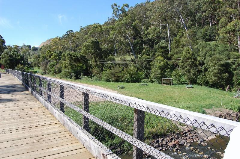 B3711 Curdies River Railway Bridge Deck