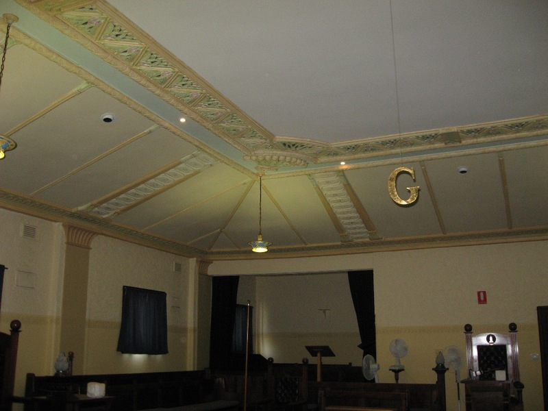 Lodge Room, general view 2011