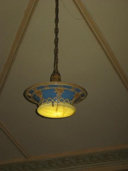 Lodge Room, light fitting 2011