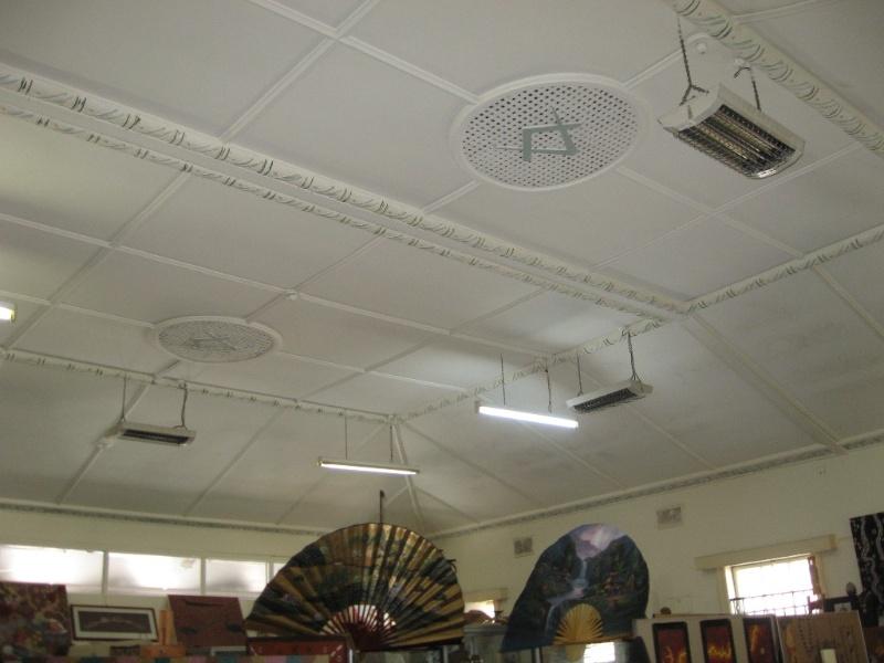 First floor foyer ceiling 2011