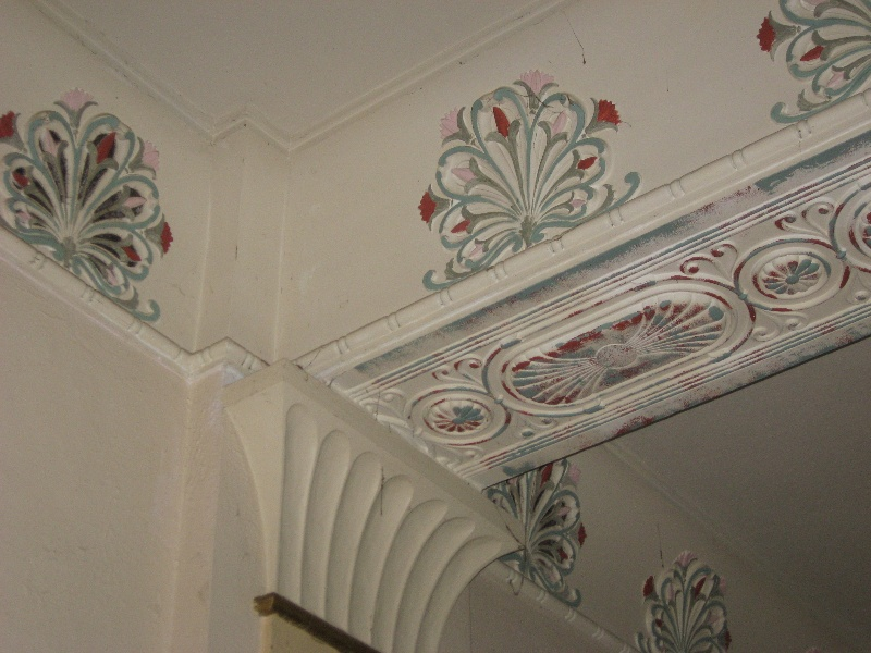 Ground Floor Hall, detail of decoration 2011