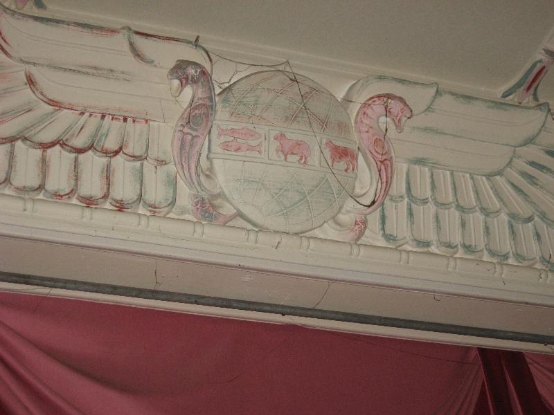 Ground Floor Hall, decorative detail 2011