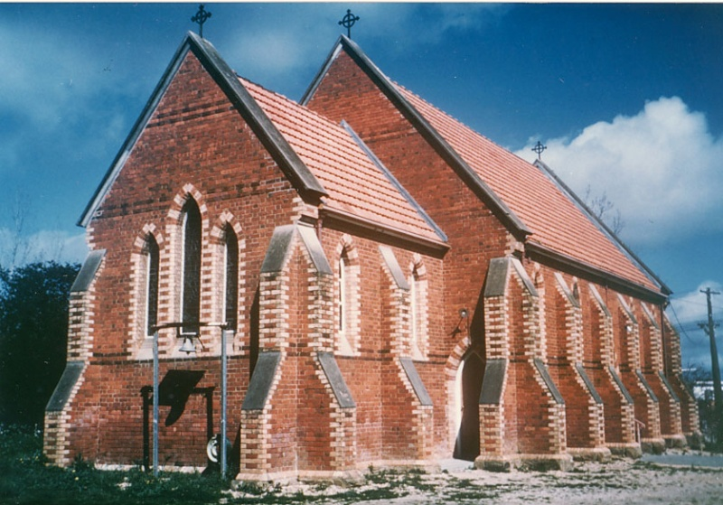 B1898 St Luke's Anglican Church White Hills Rear