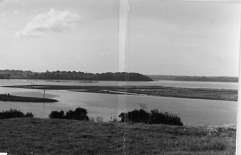 Lake Tyres Aboriginal Mission, view from Lake Tyre township looking north-east