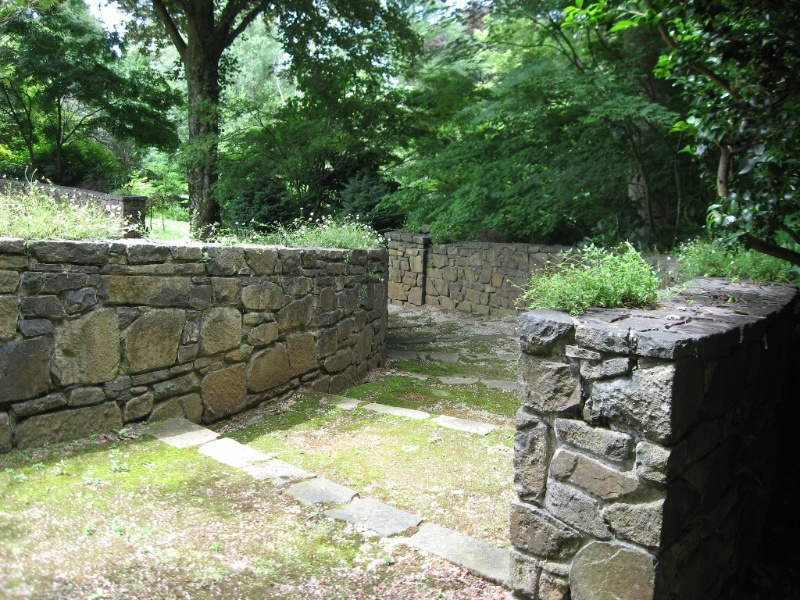 stone walls and steps 2011