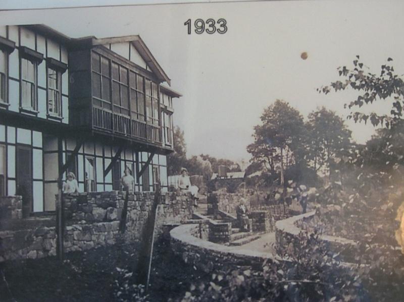 Garden under construction 1933