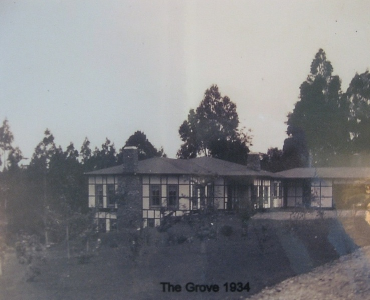 View from driveway 1934