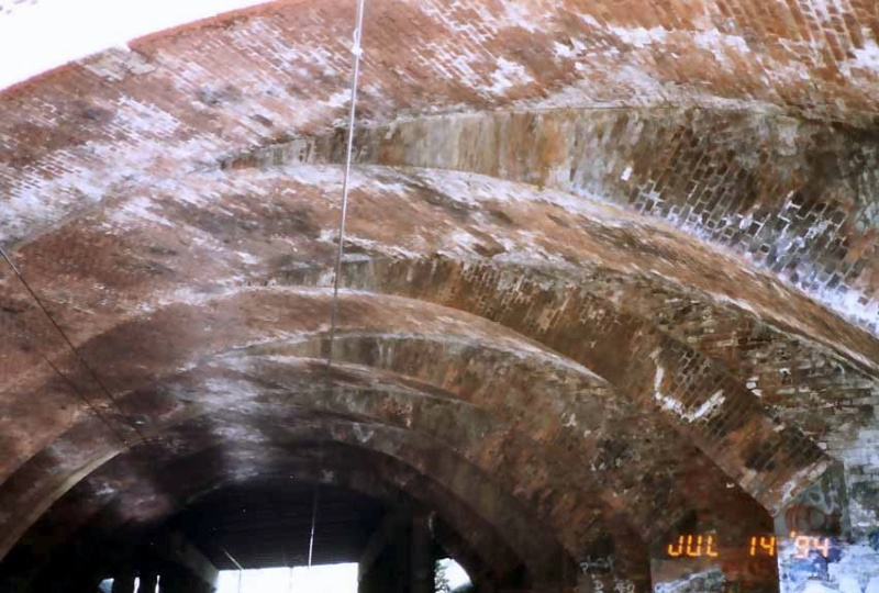 B7683 Dandenong Road Railway Bridge Underside 2
