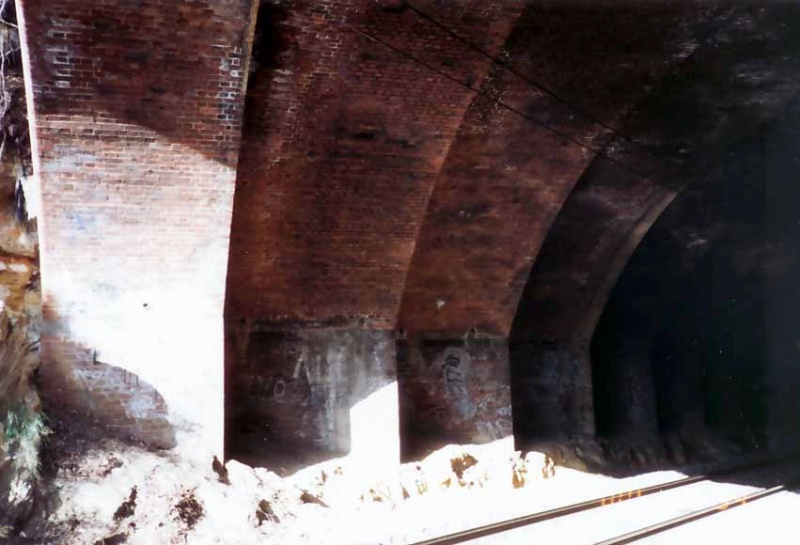 B7683 Dandenong Road Railway Bridge Underside 3