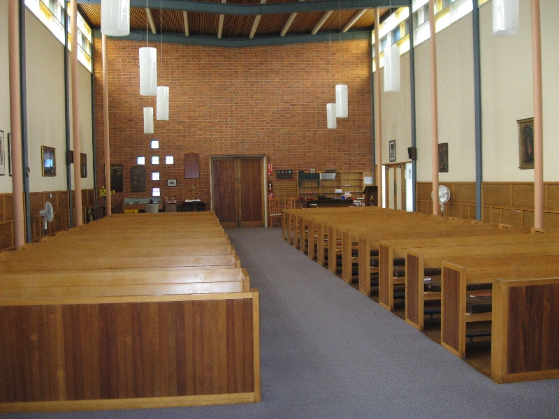 All Saints (former Christ Church) Mitcham, interior of church 1.jpg