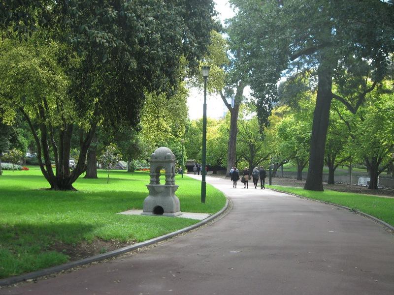 Domain drinking fountain Queen Victoria Gardens.JPG