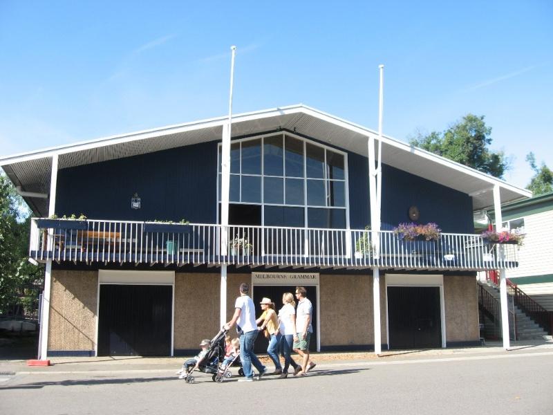 Domain Melbourne Grammar Boat House.JPG