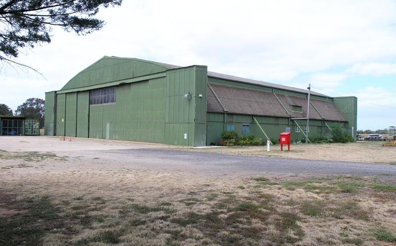 werribee satellite aerodrome hangar SOHE 2008