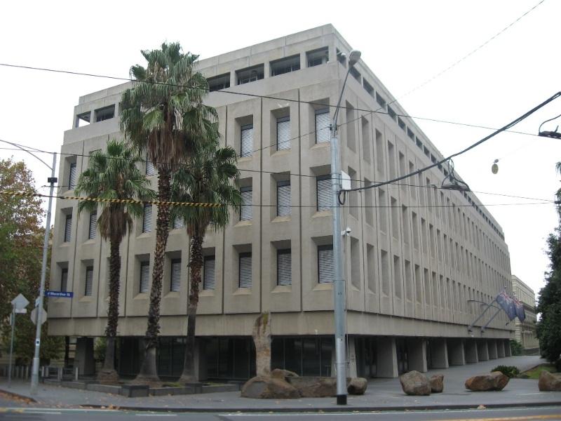 Former State Chemical Laboratoires Treasury Precinct, April 2012.JPG