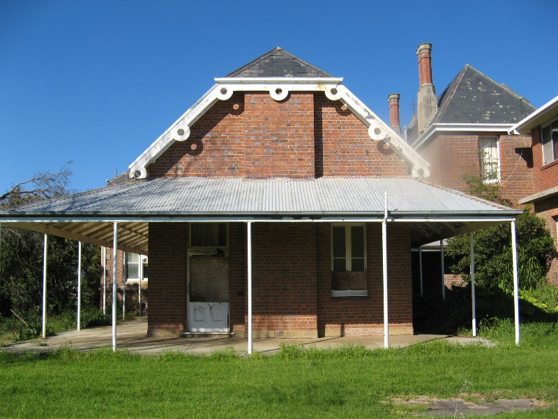 Bairnsdale Hospital rear of north wing