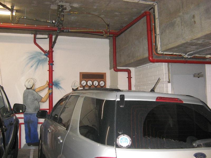 Plumbers & gasfitters garage